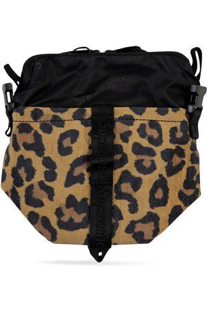 Supreme Bolso de mano con motivo de leopardo