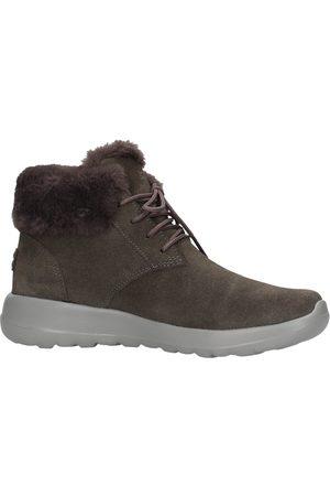 Skechers Mujer Botas de nieve - Descansos - Lace up bootie grigio 15506 CHAR para mujer