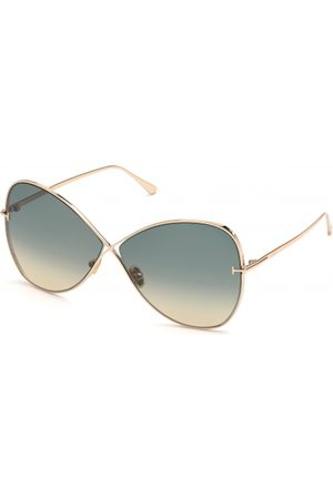 Tom Ford Mujer Gafas de sol - FT0842 Nickie 28P Shiny Rose Gold