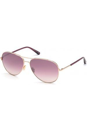 Tom Ford Gafas de sol - FT0823 Clark 28U Shiny Rose Gold