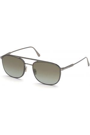 Tom Ford Hombre Gafas de sol - FT0827 Jake 12Q Shiny Dark Ruthenium