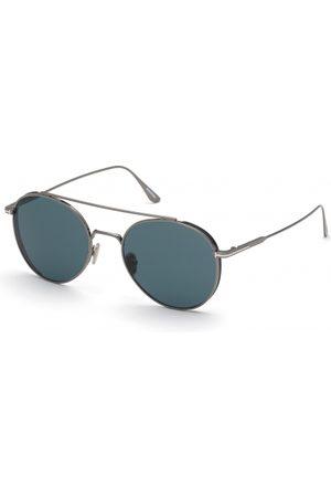 Tom Ford Hombre Gafas de sol - FT0826 Declan 12V Shiny Dark Ruthenium