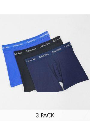 Calvin Klein Pack de 3 calzoncillos tipo boxer con cinturilla con logo de