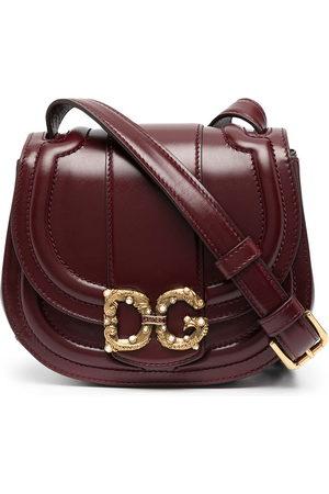 Dolce & Gabbana Bolso saddle con placa DG