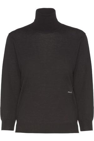 Prada Combed wool turtleneck jumper