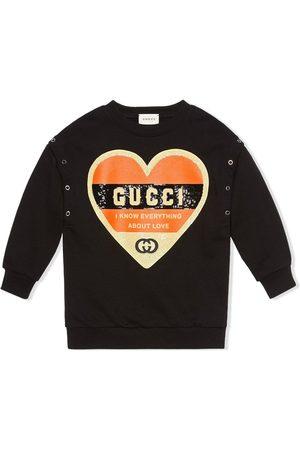 Gucci Sudadera con motivo de corazón