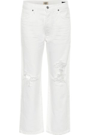 Citizens of Humanity Jeans Emery cropped de tiro alto