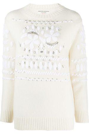 ERMANNO SCERVINO Jersey con motivo floral y detalles