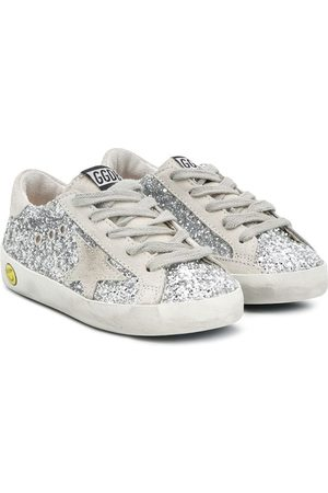 Golden Goose Zapatillas Super-Star con purpurina