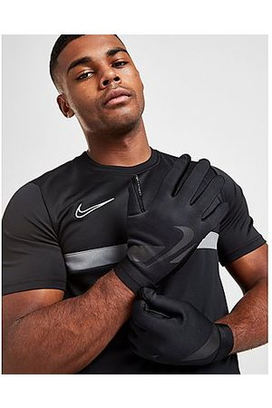 Nike Hombre Guantes - HyperWarm Academy Guantes de fútbol, Black/Black/Black