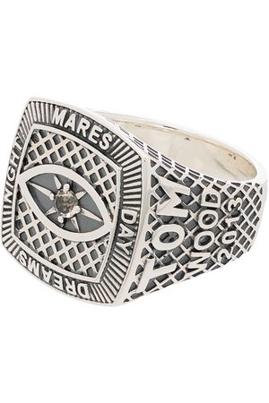 TOM WOOD Anillo Champion con cristal