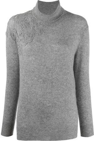 ERMANNO SCERVINO Embroidered cashmere jumper