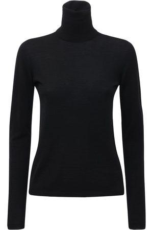 Max Mara | Mujer Suéter De Lana Con Cuello Vuelto Xs