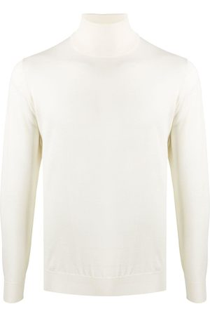 DELL'OGLIO Roll-neck fitted jumper