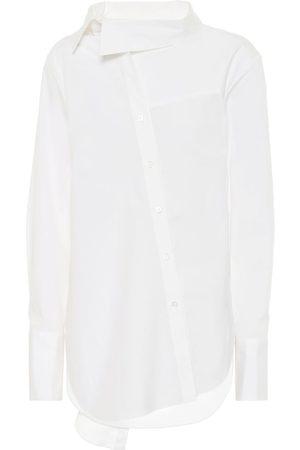 MONSE Camisa de algodón elastizado