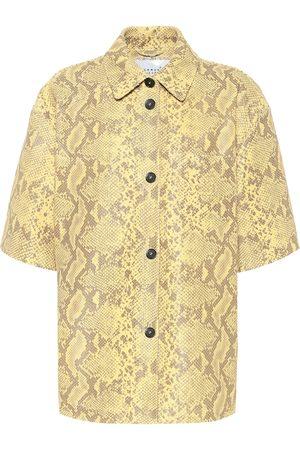 Common Leisure Camisa de piel efecto serpiente