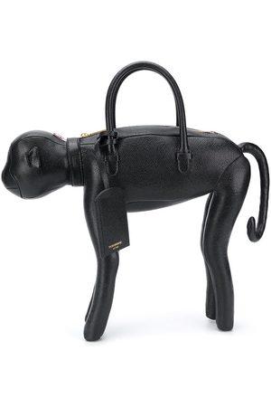 Thom Browne Bolso shopper con diseño de mono