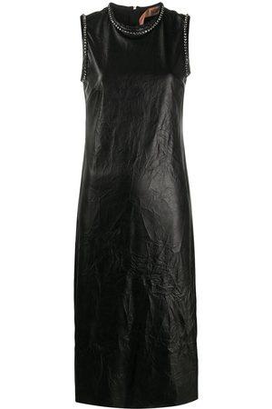 Nº21 Vestido con detalles de cristal