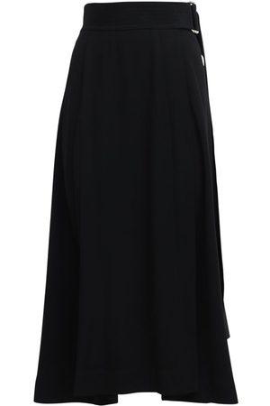 Victoria Beckham | Mujer Falda Midi De Satén Crepé 6
