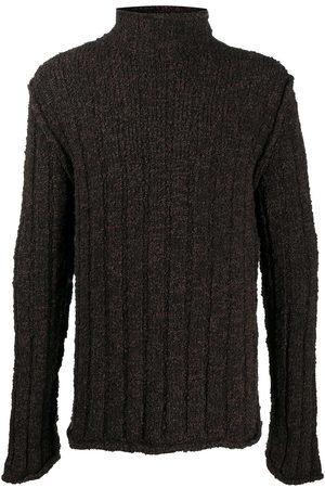 Dolce & Gabbana Hombre Cuello alto - Jersey de canalé con cuello vuelto