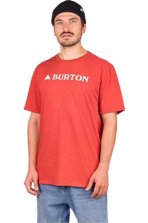 Burton Horizontal Mountain T-Shirt rojo
