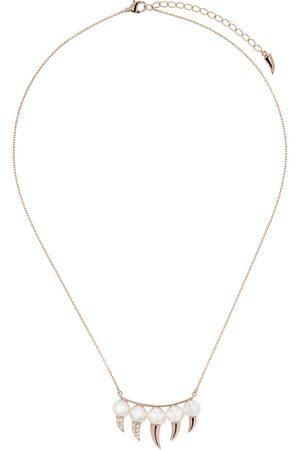 Tasaki Collar danger fang con diamantes en oro rosa de 18kt