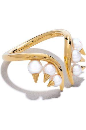 Tasaki Mujer Anillos - Anillo Danger Collection Line Akoya en oro amarillo de 18kt con perla