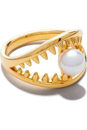 Tasaki Anillo Danger Collection Line Akoya en oro amarillo de 18kt con perla