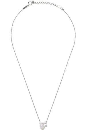 Tasaki Collar Balance Class Akoya en oro blanco de 18kt con diamante y perla