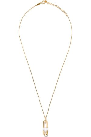 Tasaki Collar Fine Links Cllection Line Akoya en oro amarillo de 18kt con perla