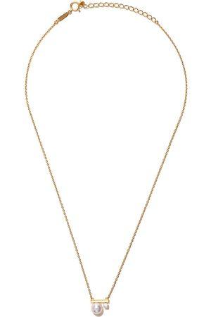Tasaki Collar Balance Class Akoya en oro amarillo de 18kt con diamante y perla