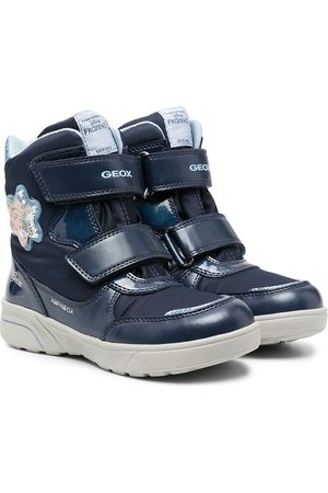 Geox Touch-strap high-top trainers