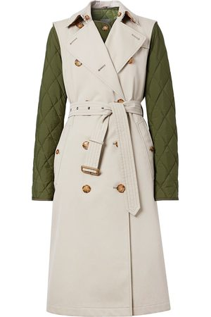 Burberry Detachable warmer sleeveless trench coat