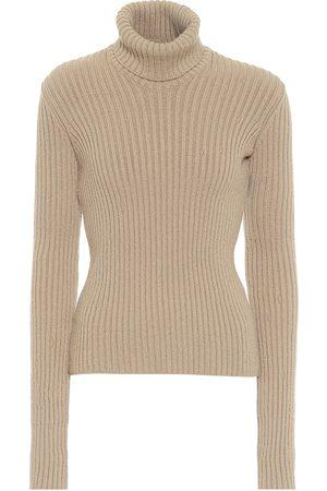 Bottega Veneta Jersey de cuello alto de lana
