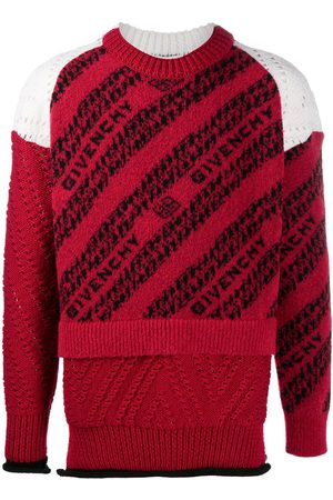 Givenchy Jersey con logo de intarsia