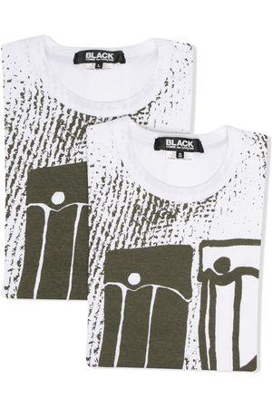 Comme des Garçons Camiseta con estampado gráfico