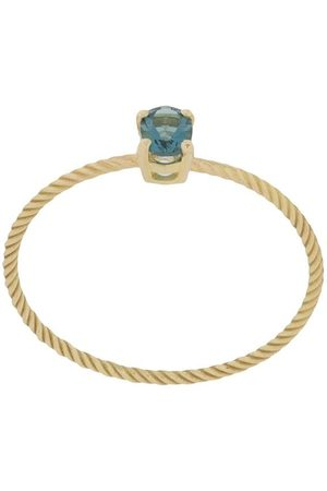 WOUTERS & HENDRIX 18kt yellow gold topaz Charleston Chapter ring