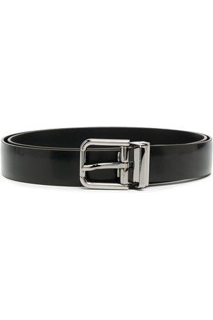 Dolce & Gabbana Cinturón con hebilla y logo grabado