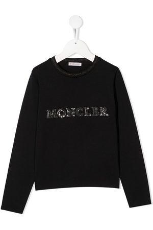 Moncler Sequin-logo sweatshirt