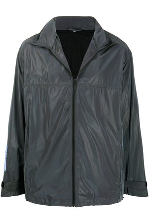 McQ Swallow High-neck zipped jacket