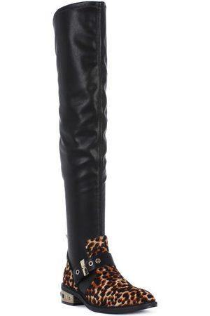 Elvio zanon Botas altas PONY NAPPA para mujer
