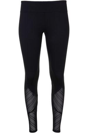 Lisca Panties Mallas deportivas de gran alcance mejilla negra para mujer