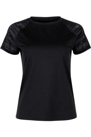 Lisca Camiseta Camiseta deportiva de manga corta Cheek black Powerful para mujer