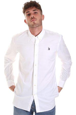 U.S. Polo Assn. Camisa manga larga 58575 51004 para hombre