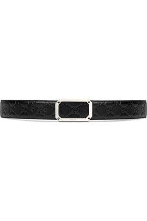 Gucci Hombre Cinturones - Cinturón de piel Signature