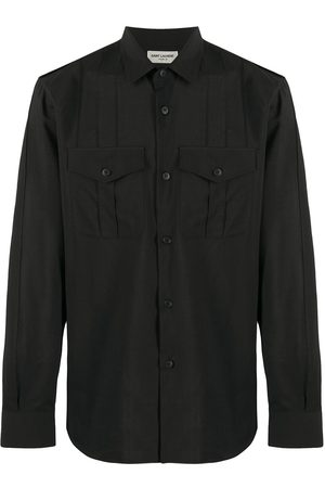 Saint Laurent Wool military shirt