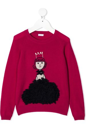 Il gufo Princess knit jumper