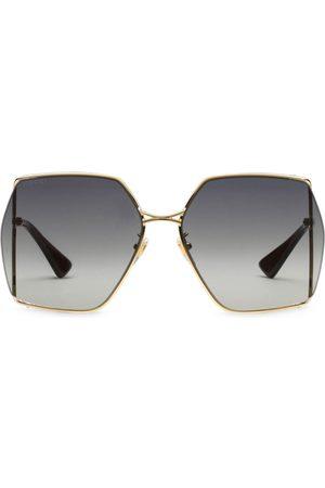Gucci Gafas de sol con montura oval
