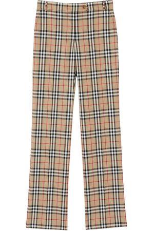 Burberry Pantalones de vestir con motivo Vintage Check