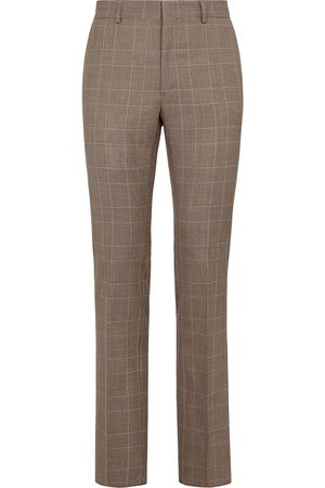 Fendi Checked tailored trousers